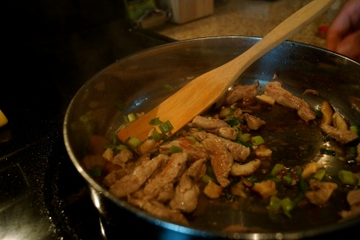 Pork and Green Onions