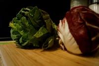 Romaine Lettuce and Raddichio