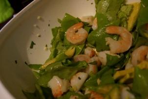 Seafood and Avocado Salad