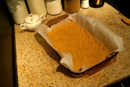 Step 1: Graham Cracker Crust