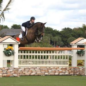 Rachel Cline, senior member of the SMU Equestrian team