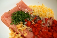 Add ingredients into a bowl