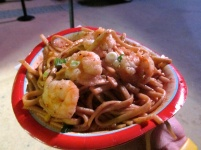 Peppered Shrimp and Noodles from China