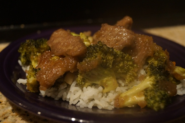 Crispy Orange Beef and Broccoli