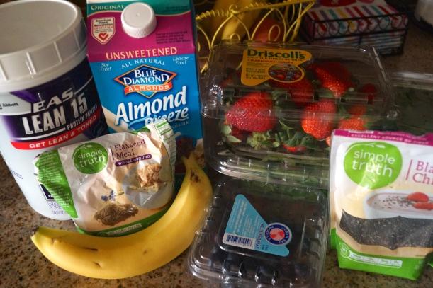 Go Green Breakfast Smoothie Ingredients