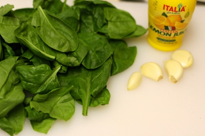5 - Spinach Ingredients