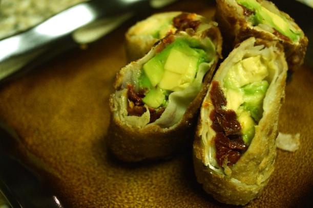 7 - Avocado Egg Rolls