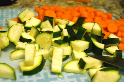 2 - Chop Vegetables
