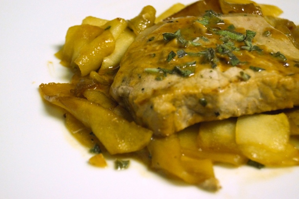 5 - Apple Cider Sage Porkchops