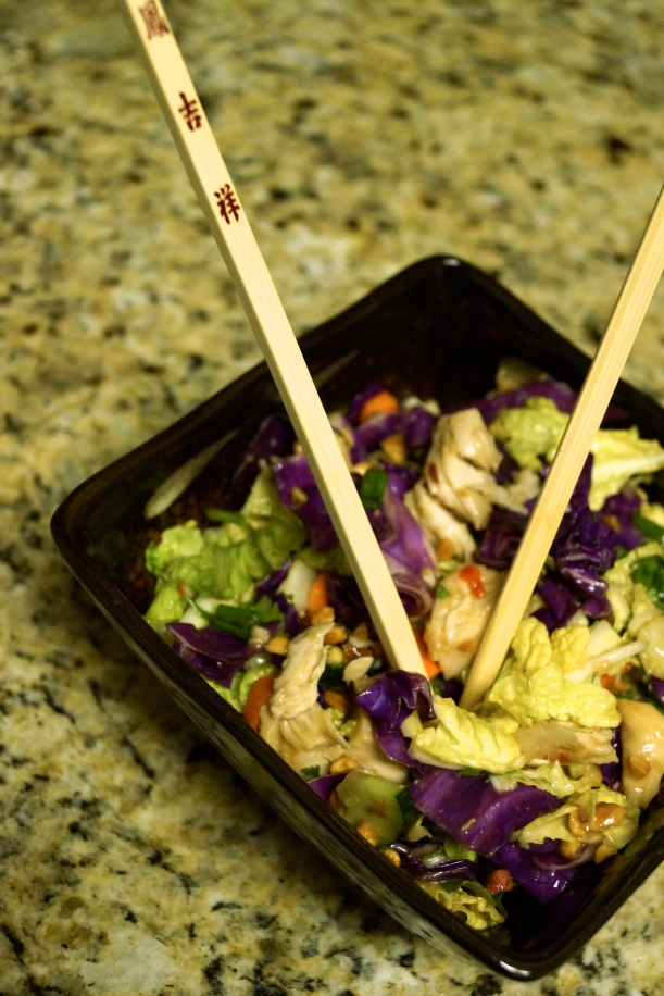 5 - Thai Crunch Chicken Salad